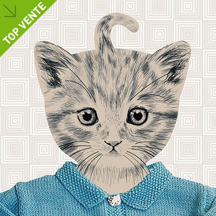 cintre-enfant-deco-tete-chaton
