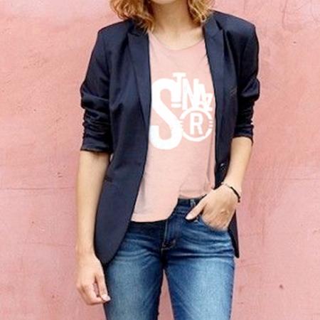 tee shirt femme Saint-Nazaire coton bio
