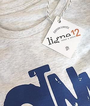 t-shirt homme saint nazaire Ligne12